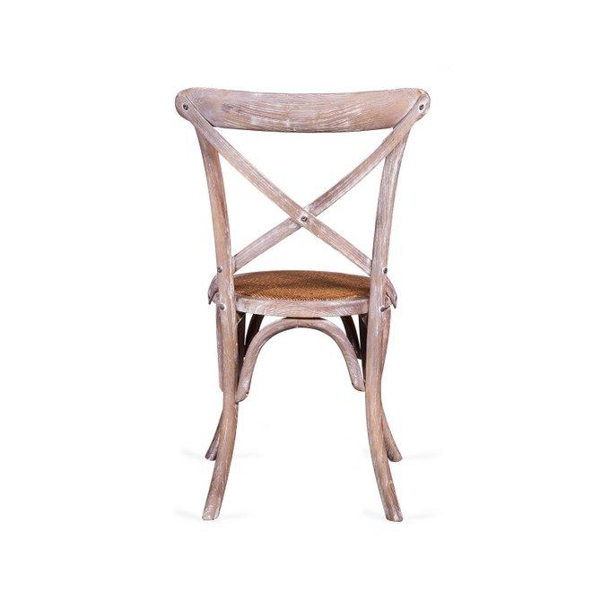 Венский стул Crosshair Cirk выбеленный дуб