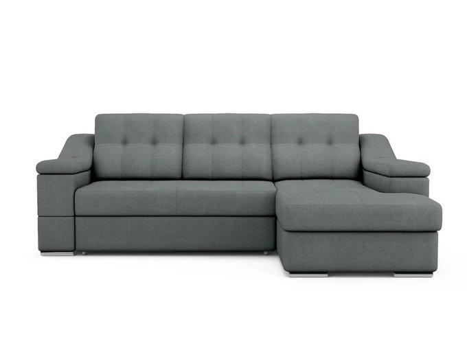 Угловой Диван-кровать Liverpool правый темно-серого цвета
