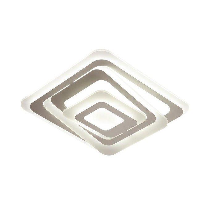 Потолочный светодиодный светильник Levels из металла и пластика
