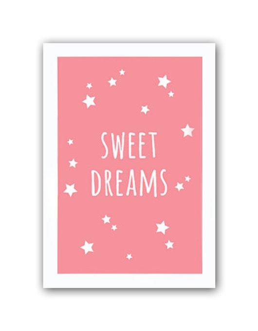 "Постер ""Sweet dreams girls"" А3"