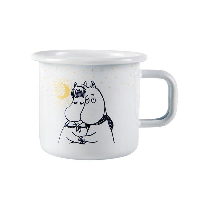 Кружка Moomin Зимняя романтика из стали