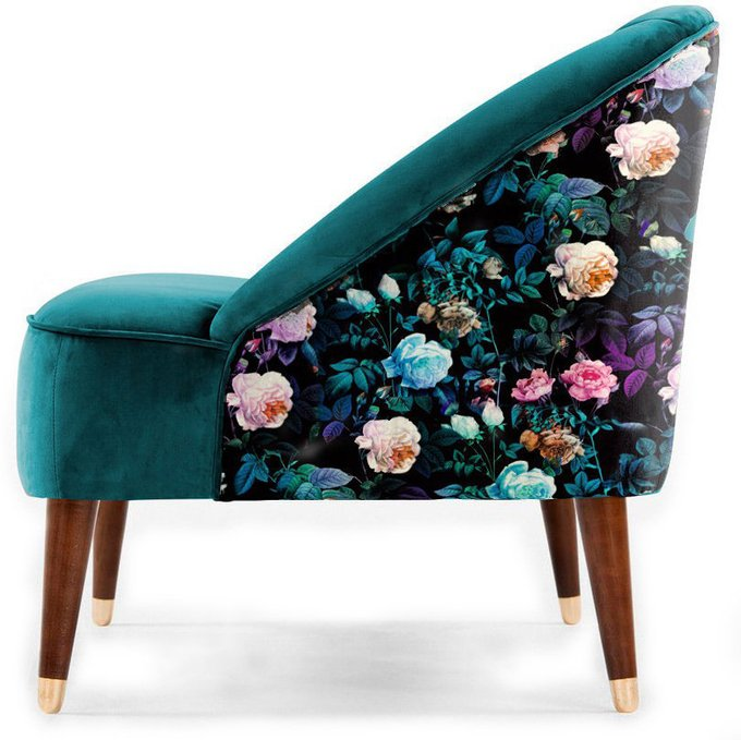 Кресло Secret Garden с каркасом и ножками из дуба