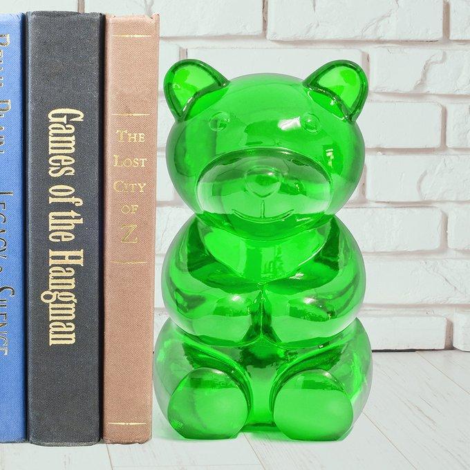 Книгодержатель Balvi yummy bear зеленый