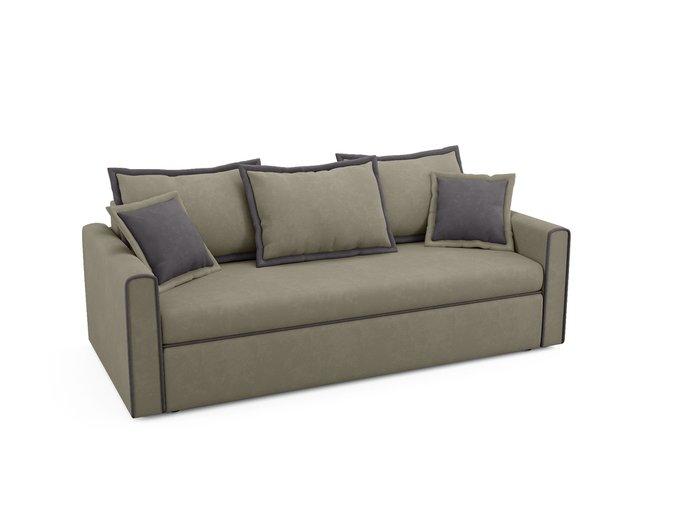 Диван-кровать Franz серо-бежевого цвета