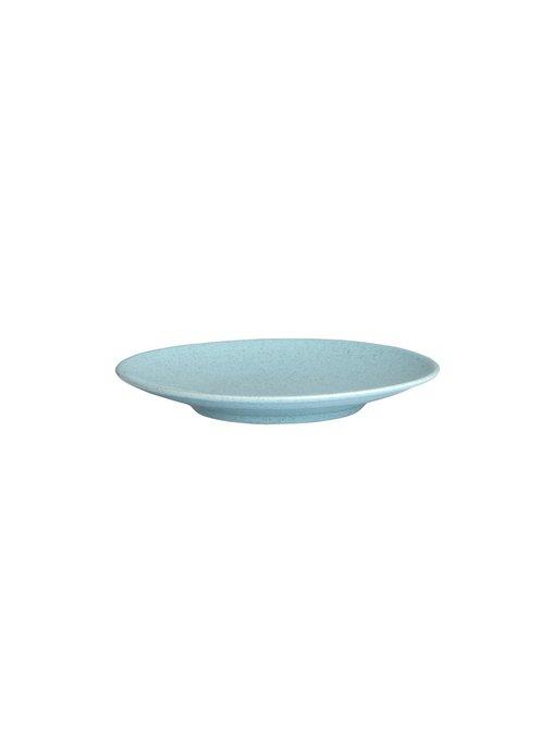 Столовый сервиз из фарфора на шесть персон NC Harlek голубого цвета