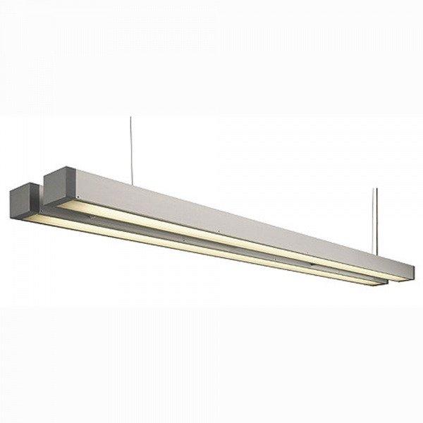 Светильник подвесной с Э-ПРА SLV Q-Line Double алюминий