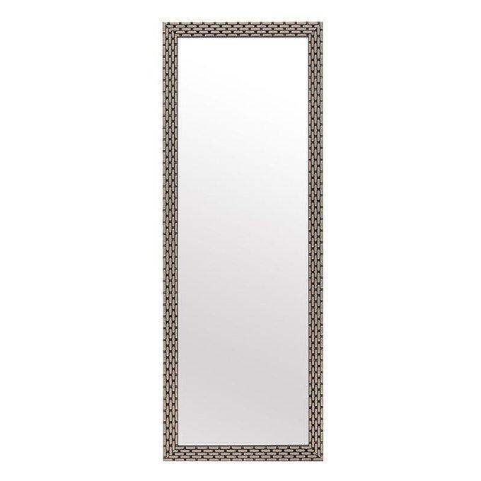 Настенное зеркало с рамой из полистоуна