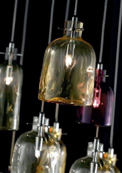 Подвесной светильник Bossa Nova Selene Illuminazione из выдувного стекла