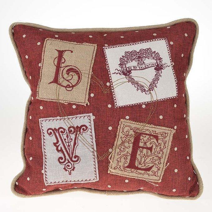 Декоративная подушка Love