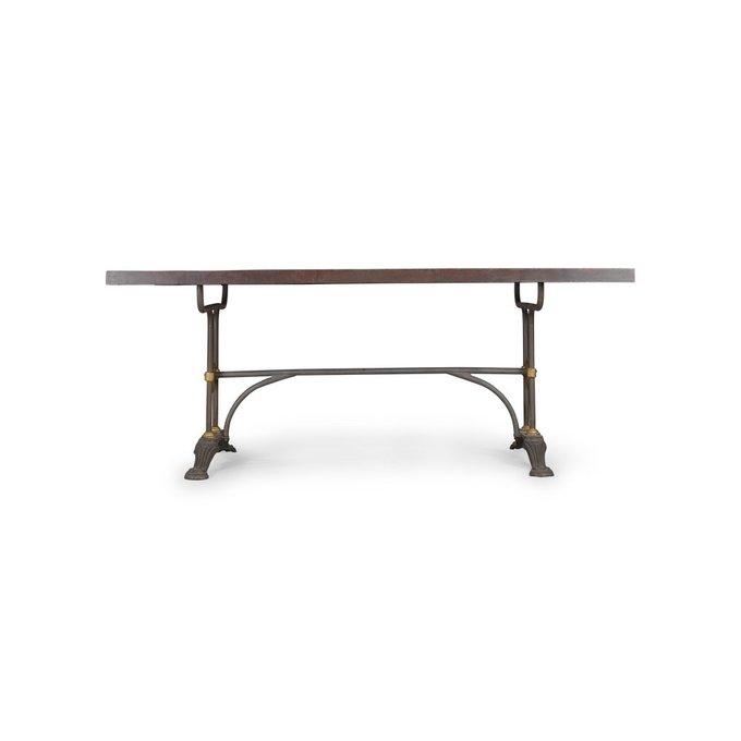 Стол обеденный Metal Sleeve из металла