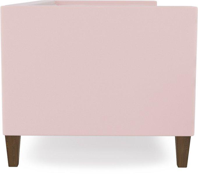 Диван прямой Довиль Flamingo розового цвета