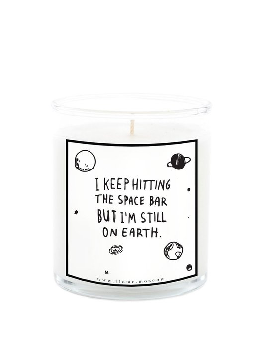 Ароматическая свеча Space из 100% кокосового воска