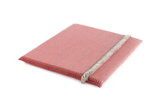 Двухспальный матрац Diagonal almond-red 140х160