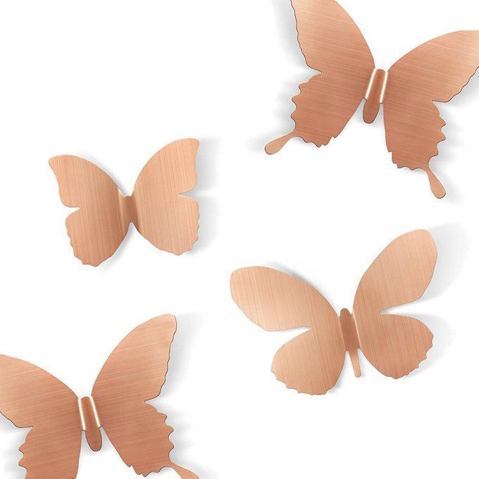 Декор для стен Umbra mariposa 9 бронза