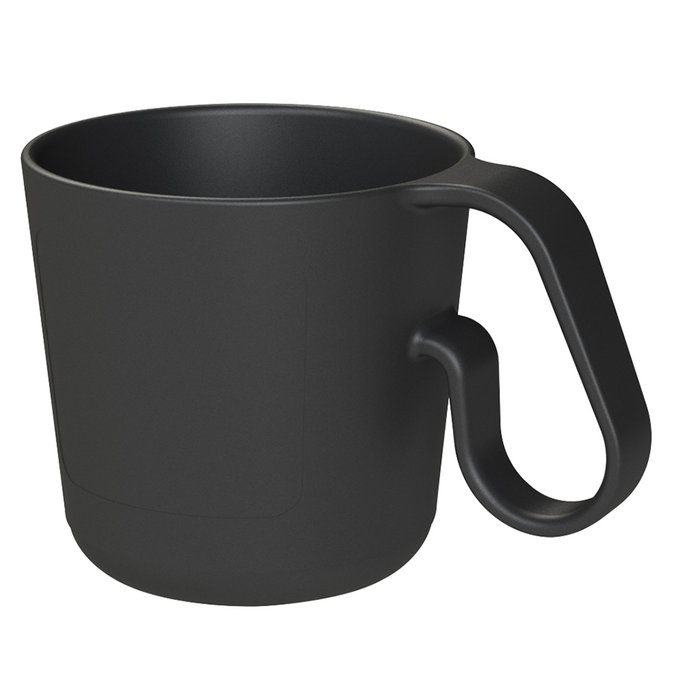 Кружка maxx 350 мл черного цвета