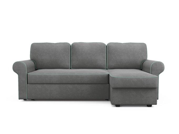 Угловой диван-кровать Tulon серого цвета