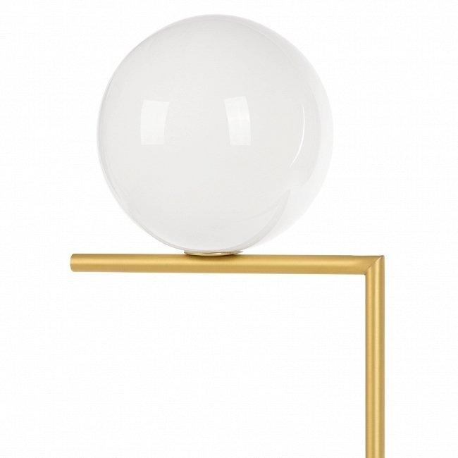 Напольный светильник Cricket с белым плафоном