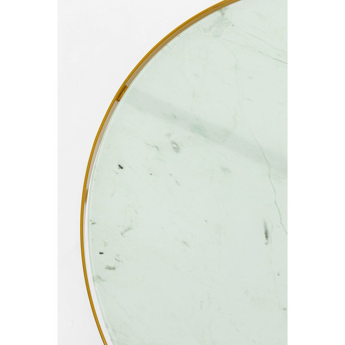 Столик приставной Marble с белой столешницей