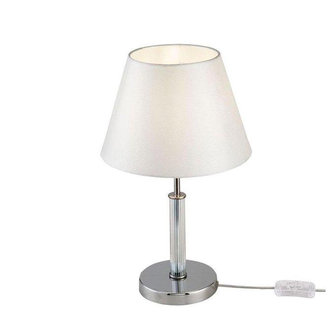 Настольная лампа Clarissa с белым абажуром