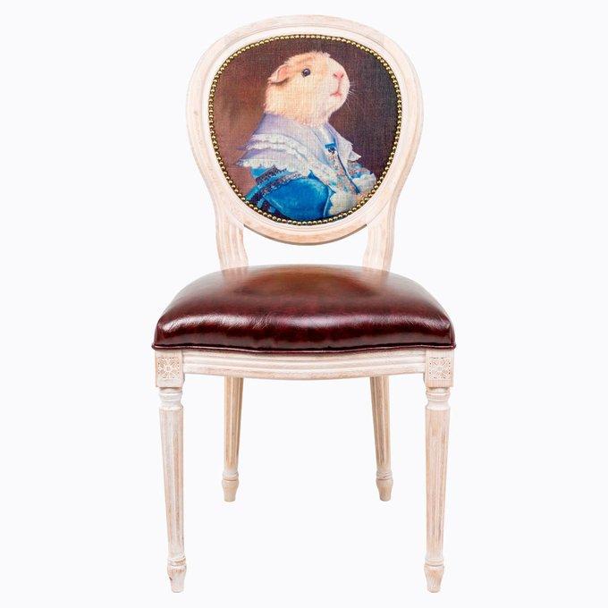 Стул Музейный экспонат версия 20 Благочестивая Марта с сидением из экокожи