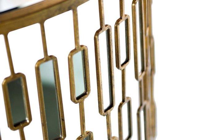 Консоль с зеркальными вставками