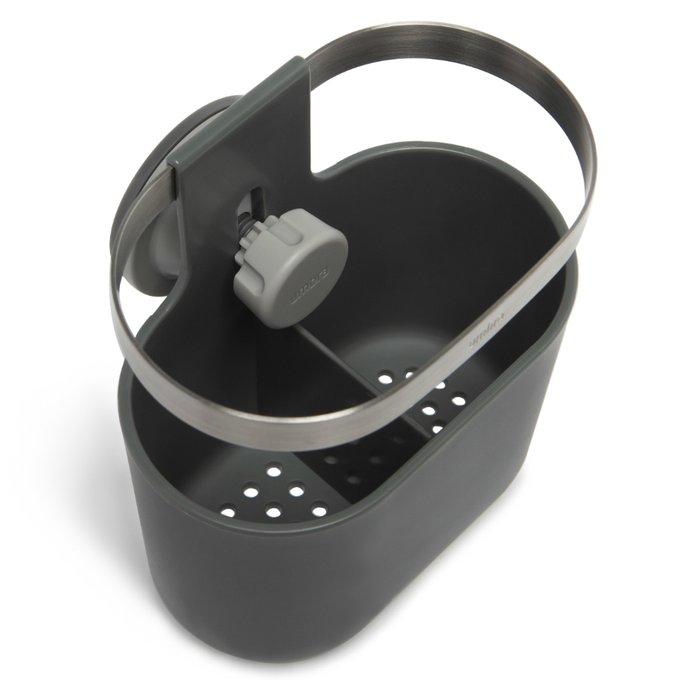 Органайзер для столовых приборов Holster тёмно-серого цвета