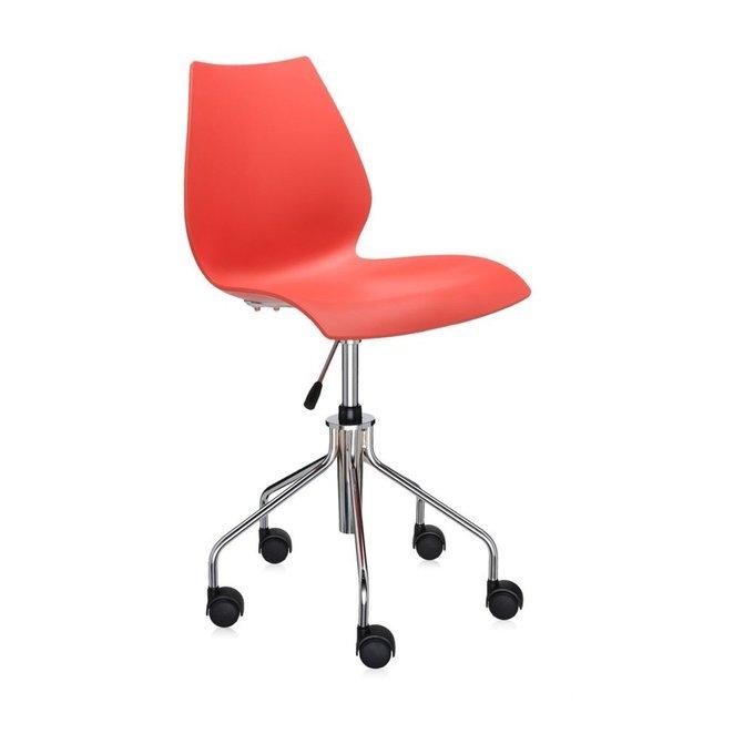 Офисный стул Maui красного цвета