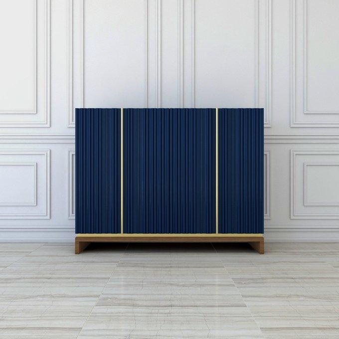 Комод Fornetti синего цвета