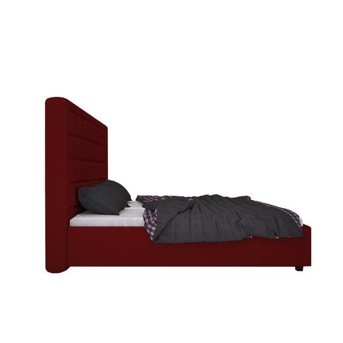 Кровать Elizabeth Велюр Красный 160х200
