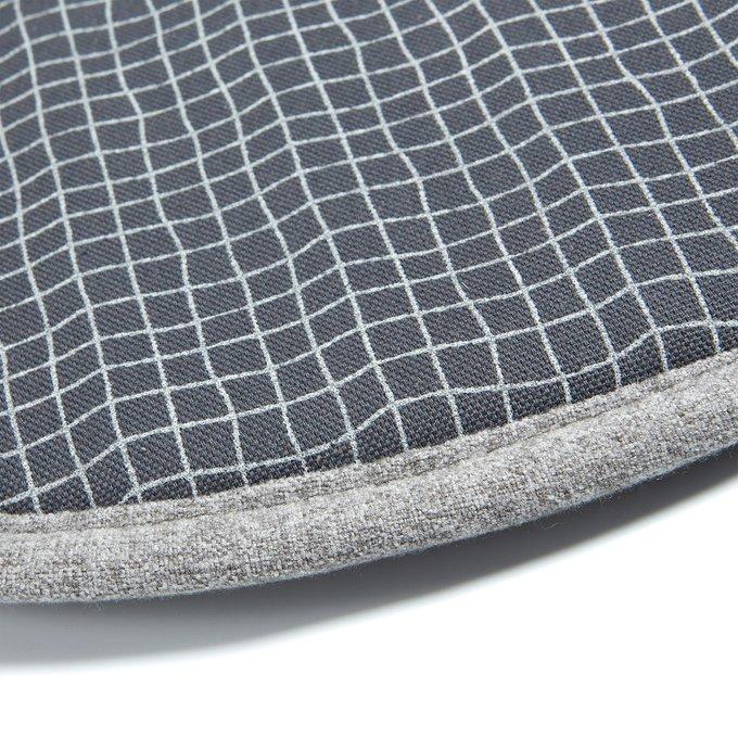 Подушка на стул Stick цвета антрацит