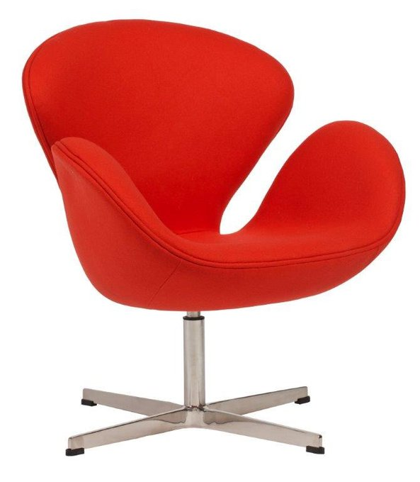 Кресло Swan Chair Red