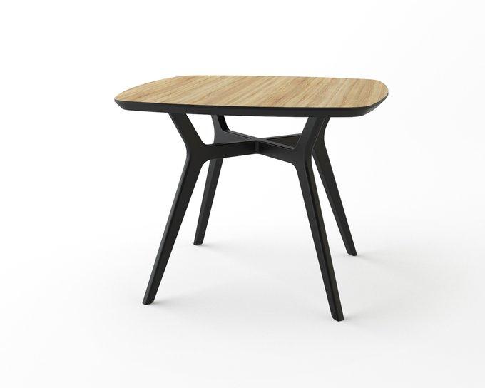 Обеденный стол Unika Lars 100х100 дуб