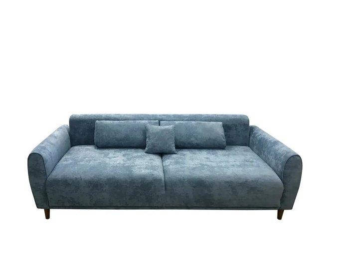 Диван Брюгге голубого цвета