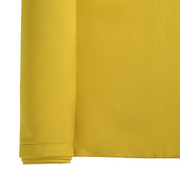 Дорожка на стол Wild горчичного цвета 45х150