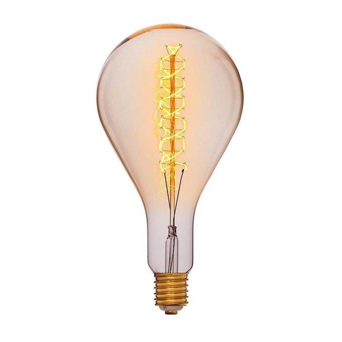 Лампа накаливания Груша прозрачная