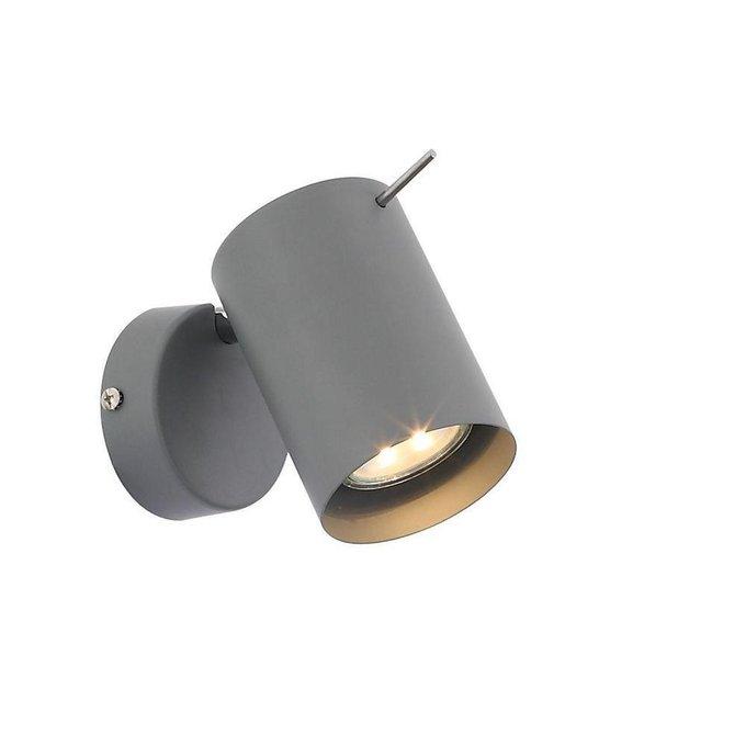 Светодиодный спот  Fanale серого цвета