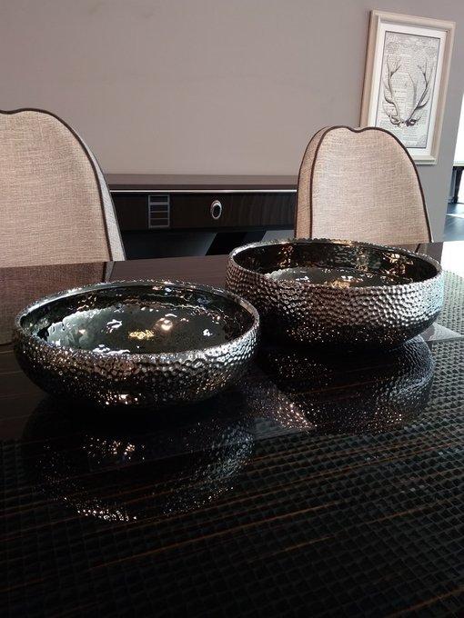 Набор из двух кашпо Lajos из керамики