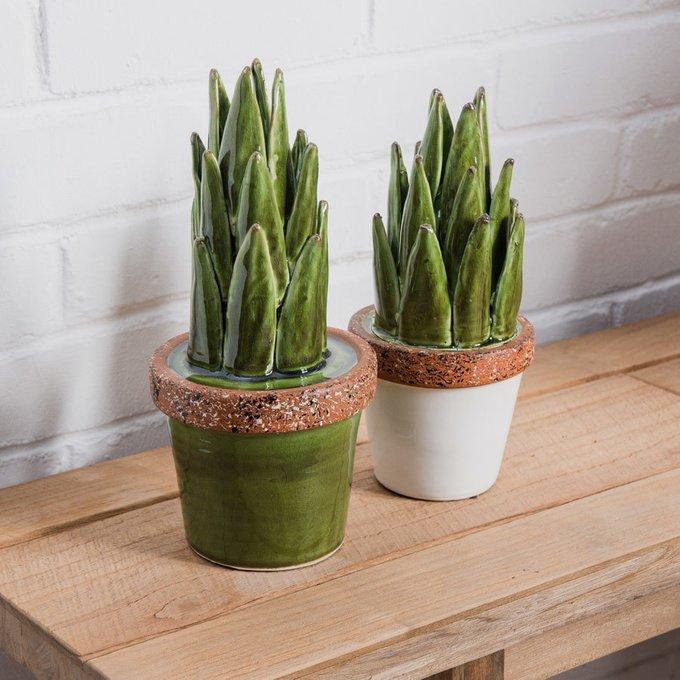 Декор Evergreen Plant White