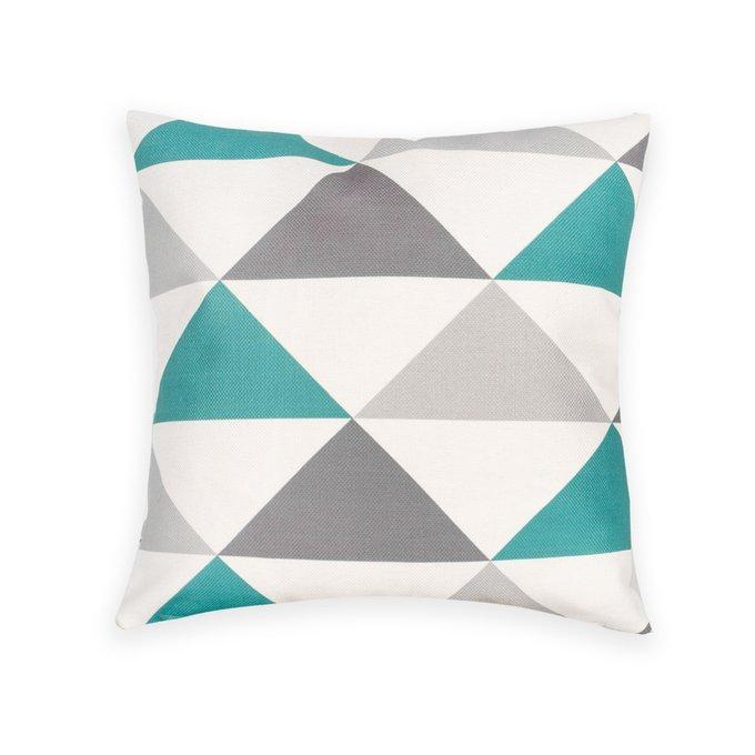 Декоративная подушка Nils с треугольным узором