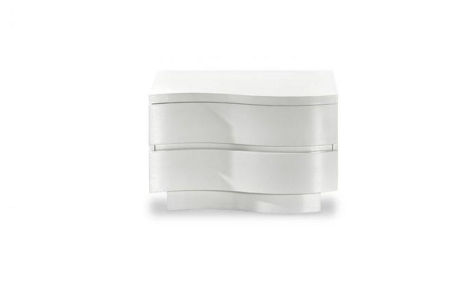 Тумба прикроватная белого цвета