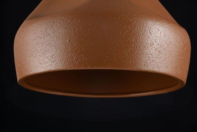 Подвесной светильник Arcilla коричневого цвета