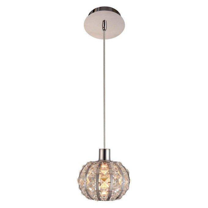 Подвесной светильник Vera с плафоном из хрусталя
