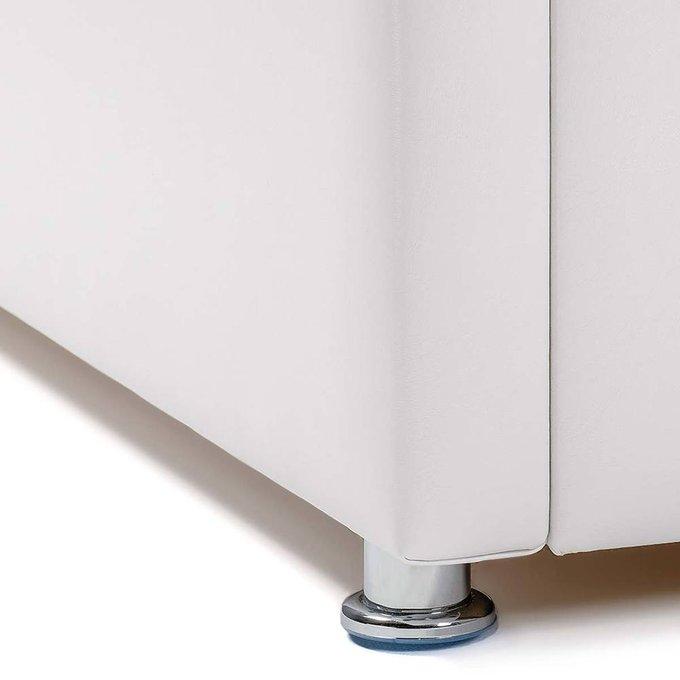 Кровать Космопорт с подъемным механизмом белого цвета 120х200
