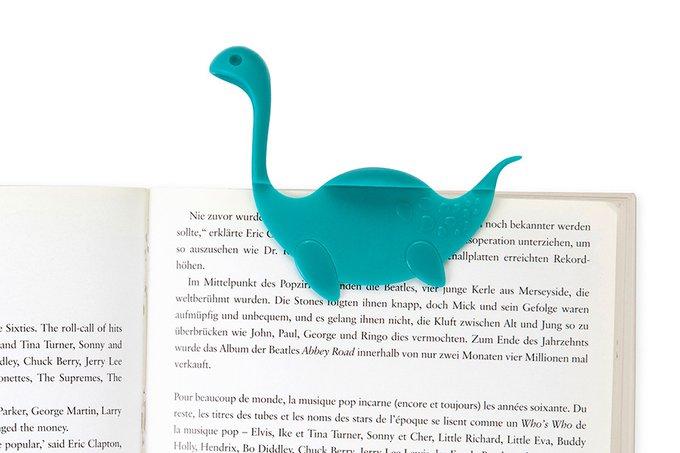 Закладка Nessie Tale бирюзовая из пластика