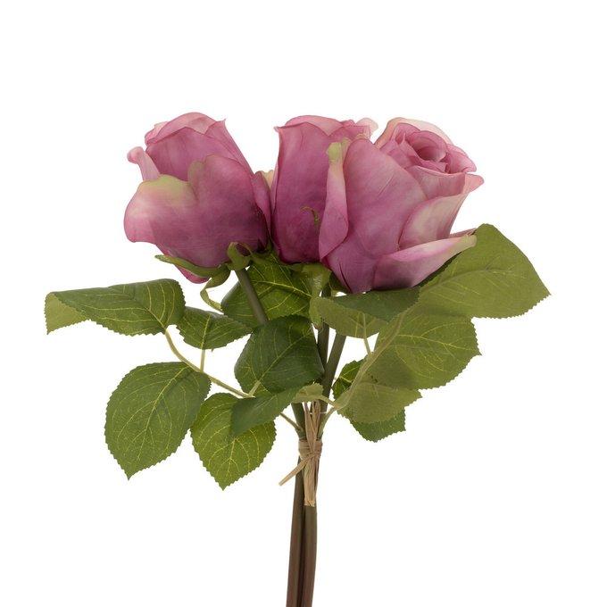 Искусственный цветок с розовыми бутонами