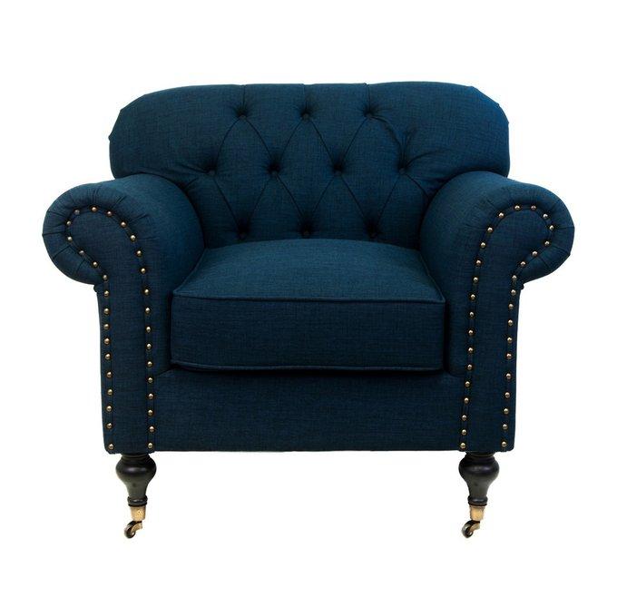 Кресло Kavita dark blue