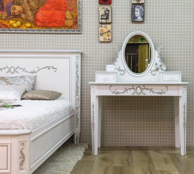 """Кровать """"Будуар"""" из массива бука 160х200"""