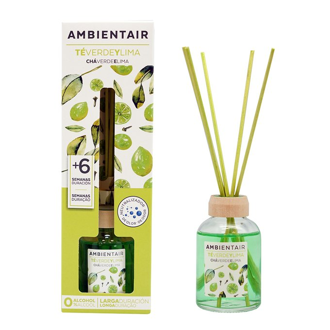 Диффузор ароматический Зеленый чай и лайм 50 мл