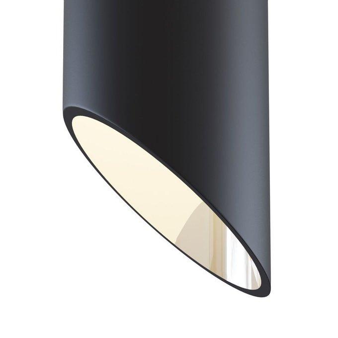 Подвесной светильник Vela черного цвета
