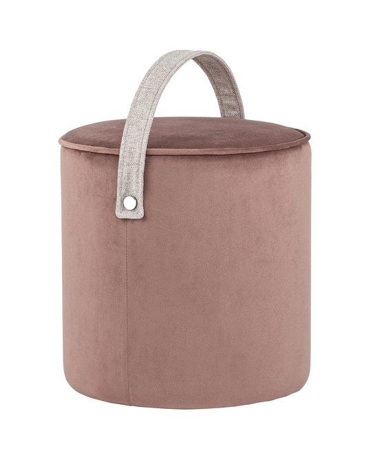 Пуф Джерри пыльно-розового цвета